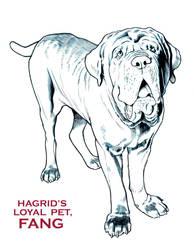 HARRY POTTER: HAGRID'S PET FANG