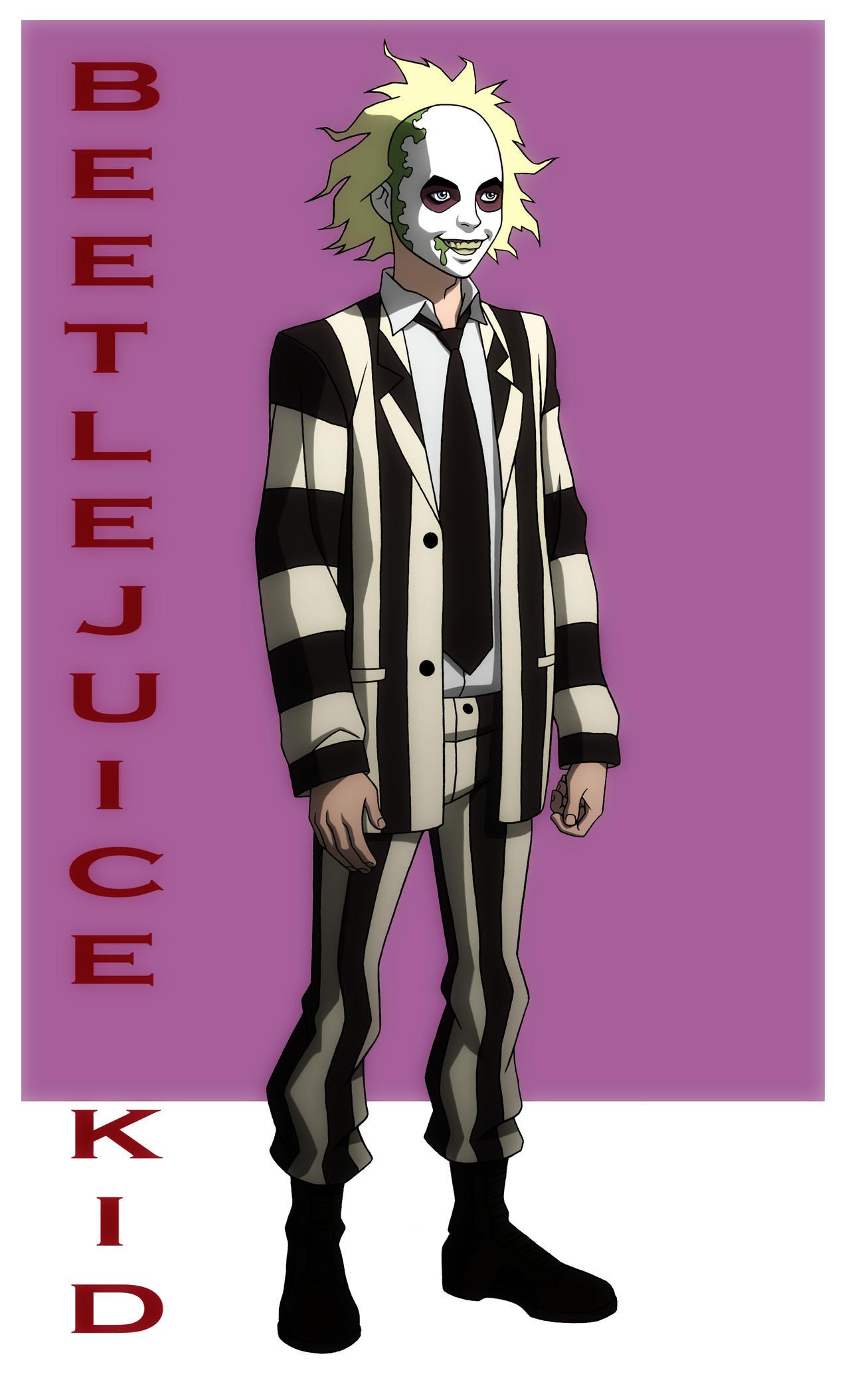 Yj Beetlejuice Kid Crf By Jerome K Moore On Deviantart