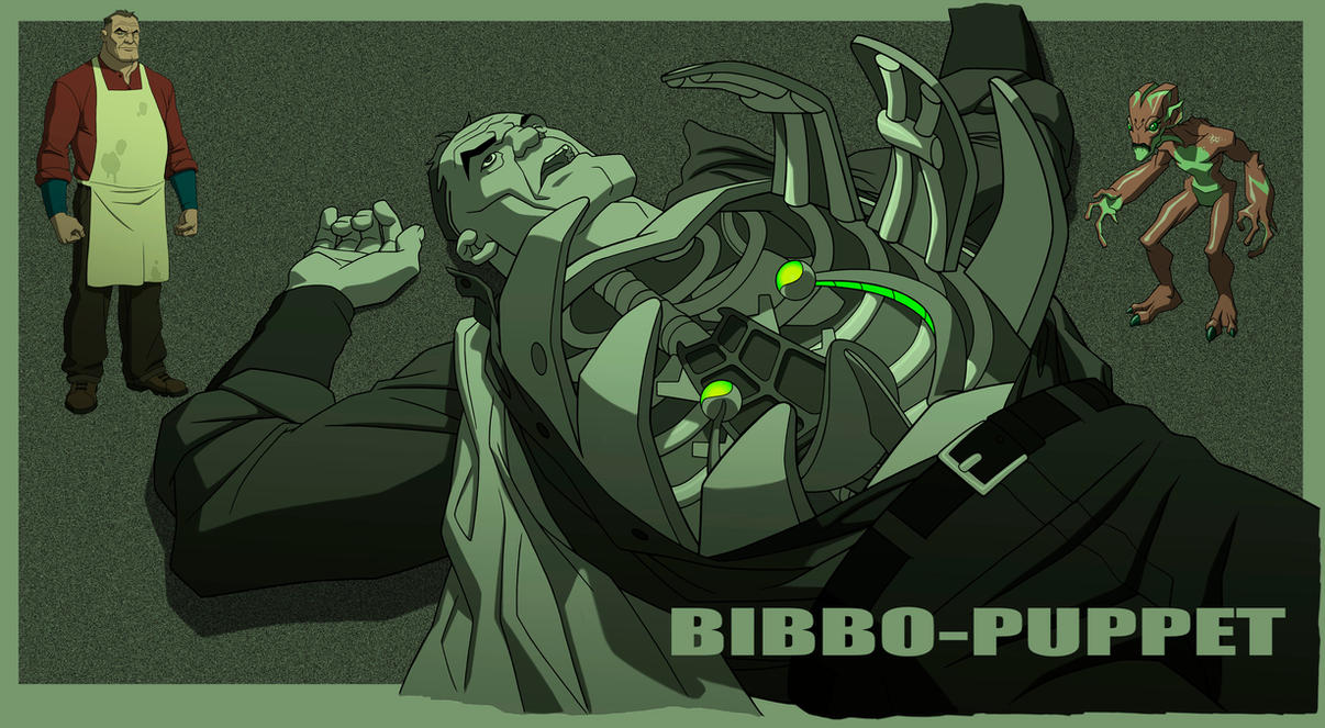 YOUNG JUSTICE: INVASION: BIBBO-PUPPET by Jerome-K-Moore
