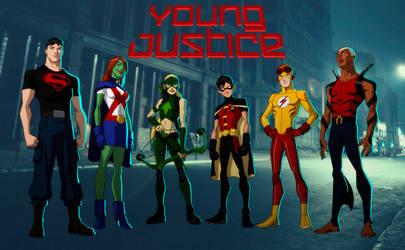 YOUNG JUSTICE: THE TEAM by Jerome-K-Moore