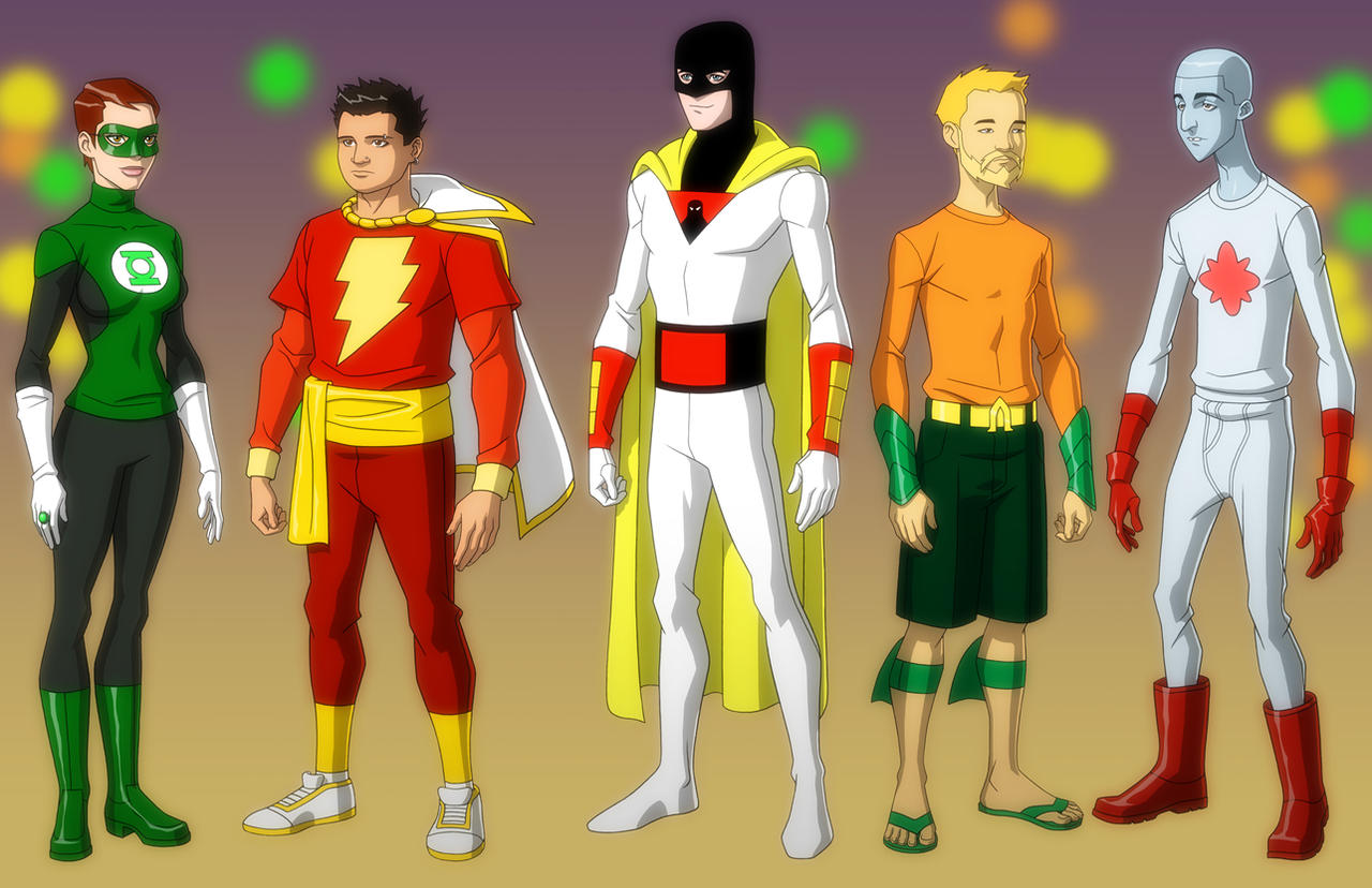 Character Design Young Justice : Young justice cartoon part page the