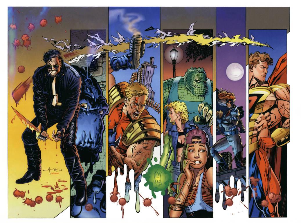 MALIBU COMICS' ULTRAVERSE: RAFFERTY by Jerome-K-Moore