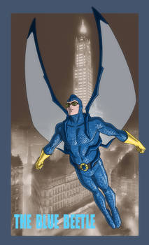 YOUNG JUSTICE: INVASION: The Original BLUE BEETLE