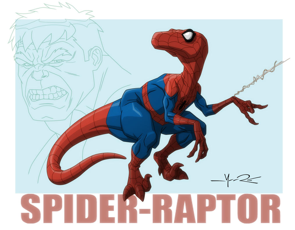 HAS: SPIDER-RAPTOR by Jerome-K-Moore
