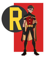 YOUNG JUSTICE: ROBIN by Jerome-K-Moore