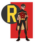 YOUNG JUSTICE: ROBIN