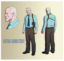 USM: CAPTAIN GEORGE STACY by Jerome-K-Moore
