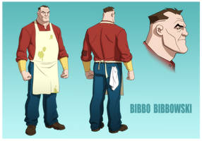 YOUNG JUSTICE: INVASION: BIBBO BIBBOWSKI by Jerome-K-Moore