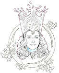 THE WIZARD OF OZ: GLINDA the Good Witch