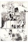 Aborted AQUAMAN Mini-series Page