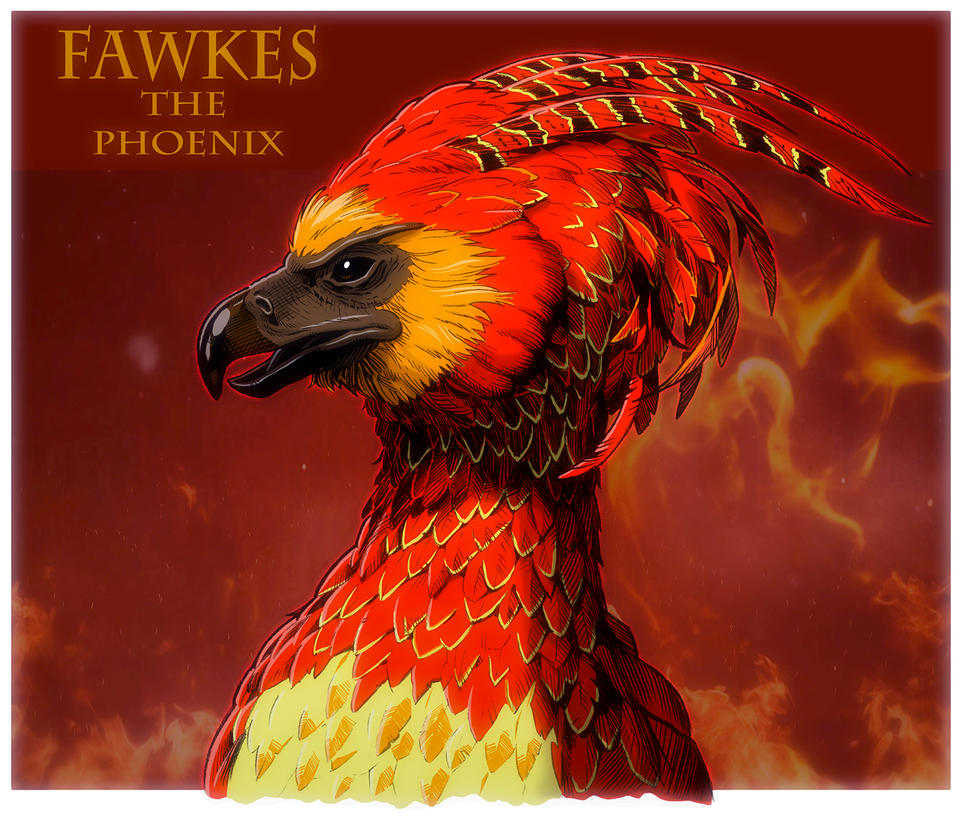 Harry potter fawkes the phoenix by jerome k moore on deviantart harry potter fawkes the phoenix by jerome k moore voltagebd Gallery