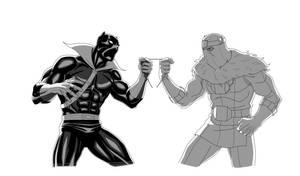 MAA: BLACK PANTHER vs BARON ZEMO