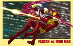 AVENGERS ASSEMBLE: FALCON vs IRON MAN