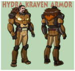 USM: KRAVEN THE HUNTER in HYDRA ARMOR