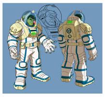 HAS: HULK SPACESUIT by Jerome-K-Moore