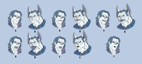 USM: MORBIUS MOUTH CHART by Jerome-K-Moore