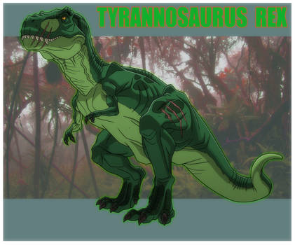 AVENGERS ASSEMBLE: TYRANNOSAURUS REX by Jerome-K-Moore
