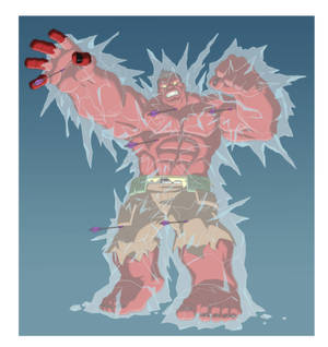 HAS: GAMMA RED HULK - FROZEN