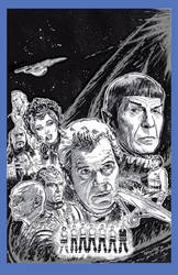 STAR TREK VI: THE UNDISCOVERED COUNTRY by Jerome-K-Moore