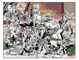 ULTRAVERSE: MAYHEM ON MAPLE STREET! by Jerome-K-Moore