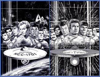 CLASSIC STAR TREK: ERAS by Jerome-K-Moore