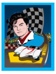 GO, SPEED RACER, GO! by Jerome-K-Moore