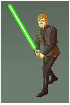 STAR WARS: CARTOON LUKE SKYWALKER