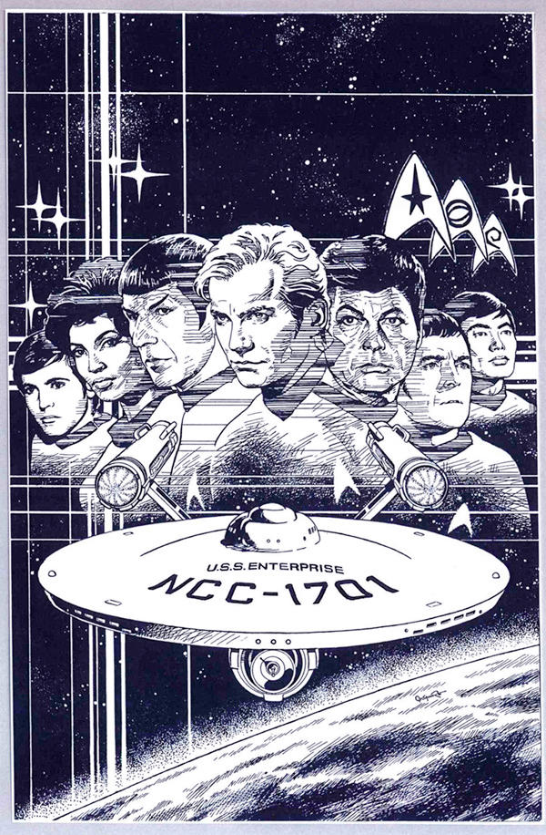 CLASSIC STAR TREK 1 by Jerome-K-Moore