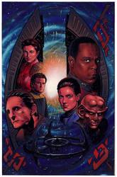 STAR TREK- DEEP SPACE NINE by Jerome-K-Moore