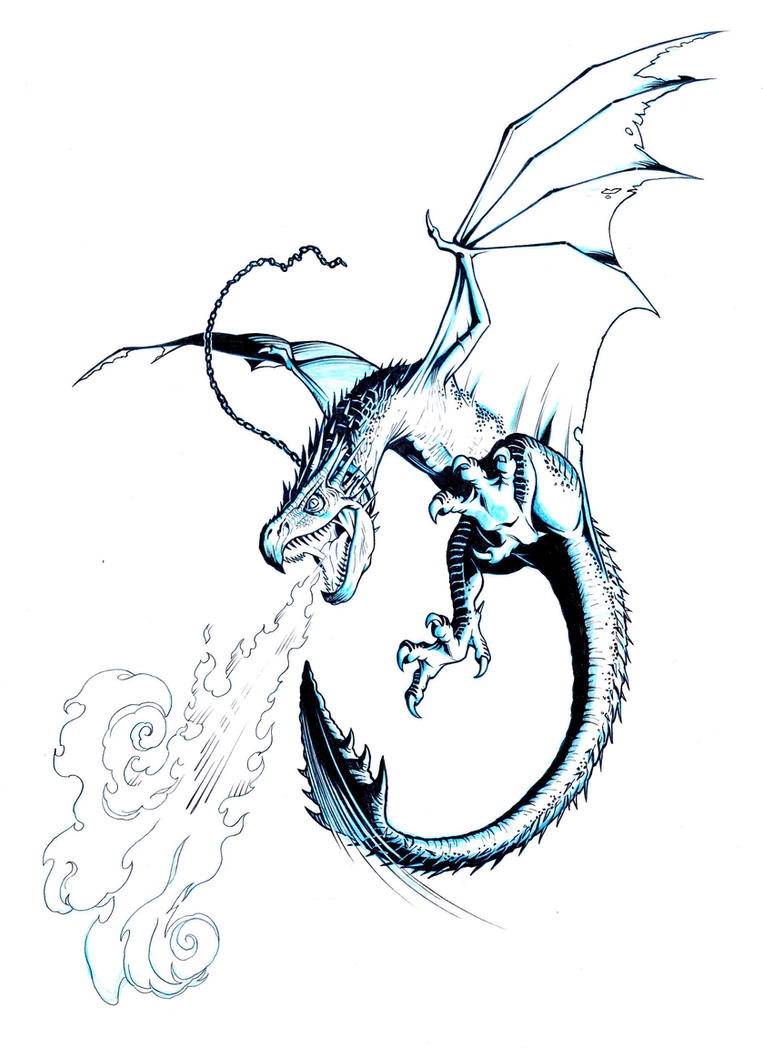 Hungarian horntail coloring pages