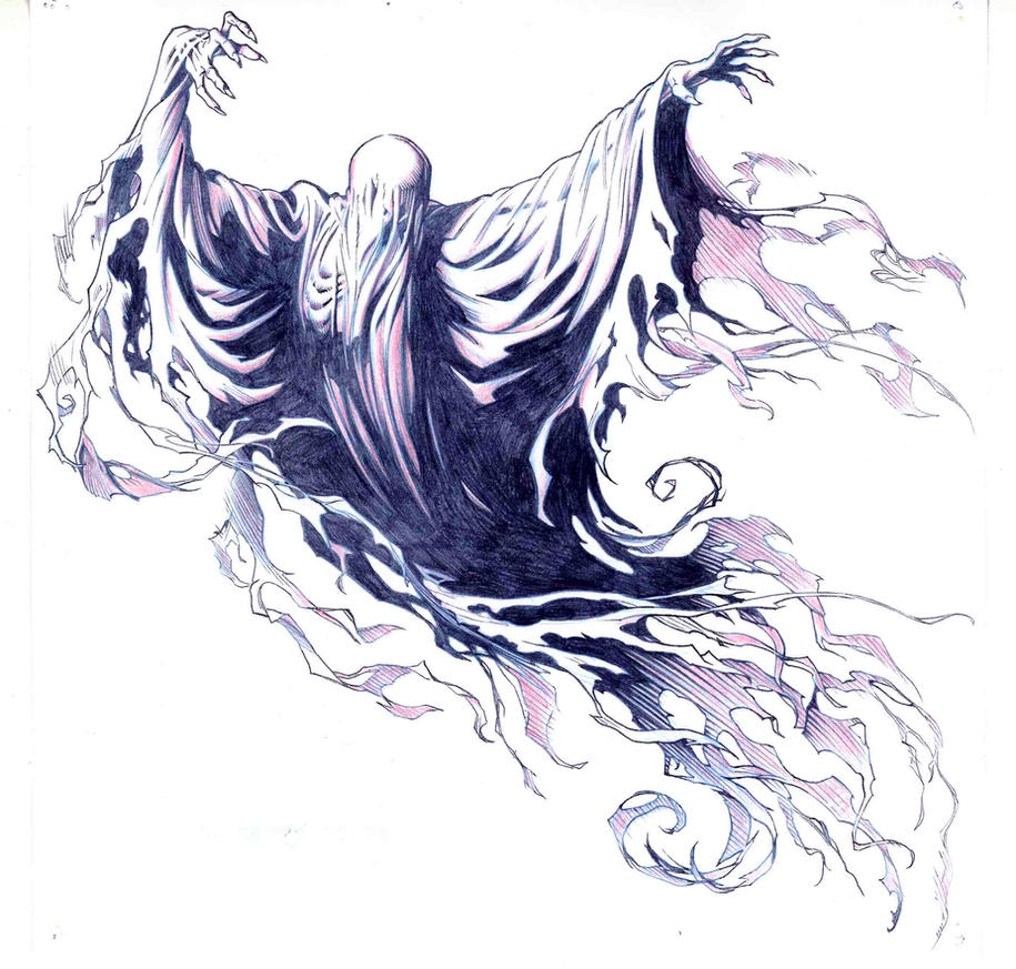 Dementor by jerome k moore on deviantart for Dementor coloring pages