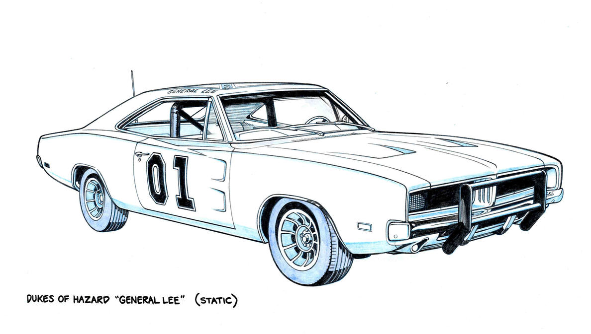 the general lee by jerome k moore on deviantart