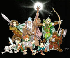 Lord of the Rings: CARTOON FELLOWSHIP