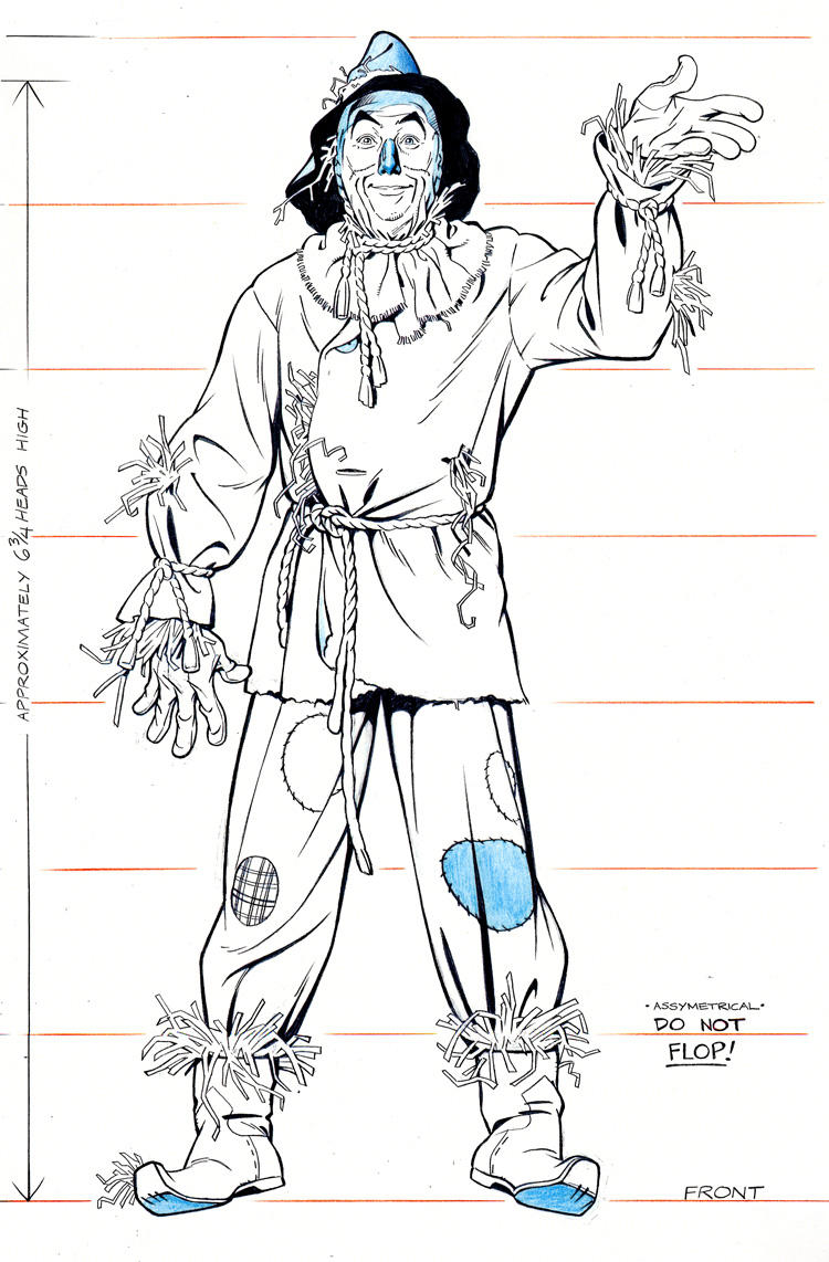 Scarecrow mugshot by jerome k moore on deviantart