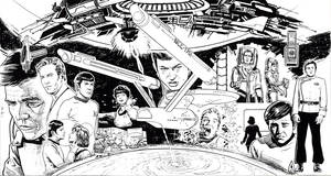 TREK TRIPTYCH by Jerome-K-Moore