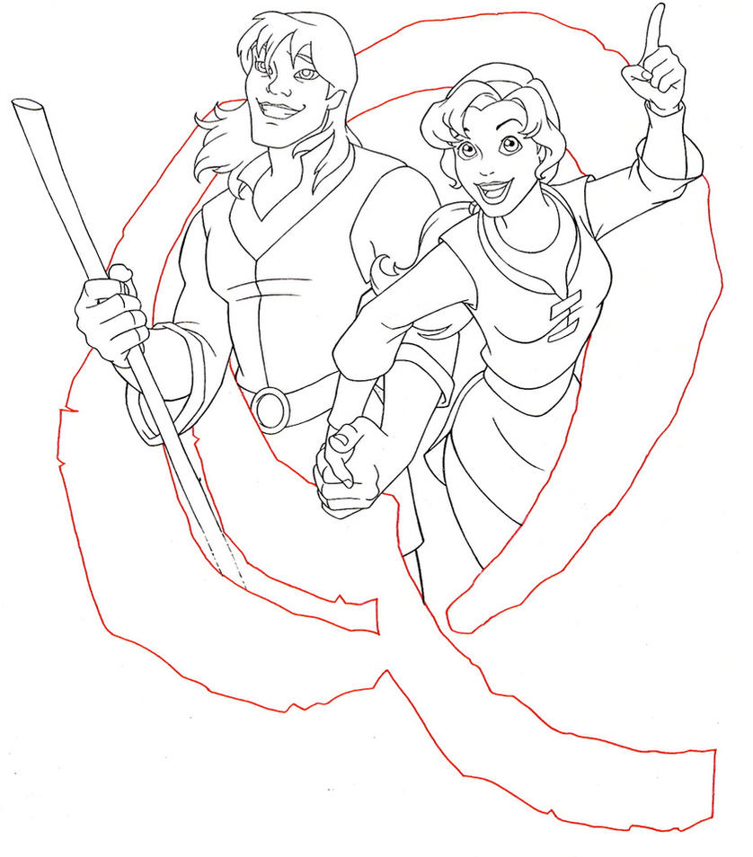 Quest teaser poster by jerome k moore on deviantart for Quest for camelot coloring pages