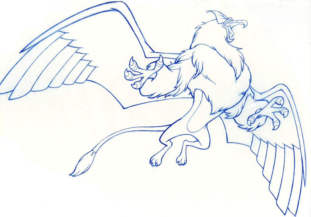 Griffin majestic by jerome k moore on deviantart for Quest for camelot coloring pages