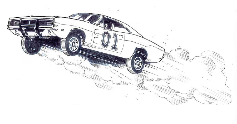 Jumpin General By Jerome K Moore On Deviantart General Car Coloring Pages