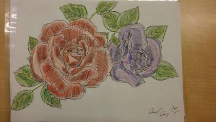 Roses by ebrolic