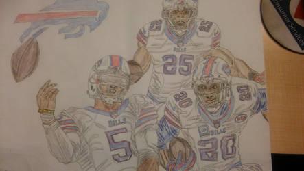 Buffalo Bills by ebrolic