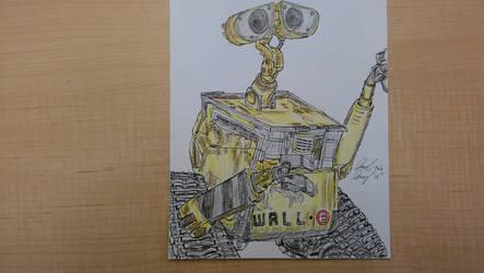 Wall-E by ebrolic