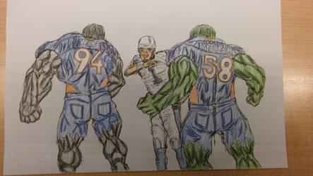 NFL Hulks by ebrolic