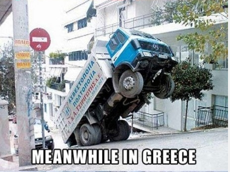 Meanwhile in Greece... by AmberTheAlchemist
