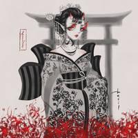 Devil Inktober 2018 by SoraDreamer95