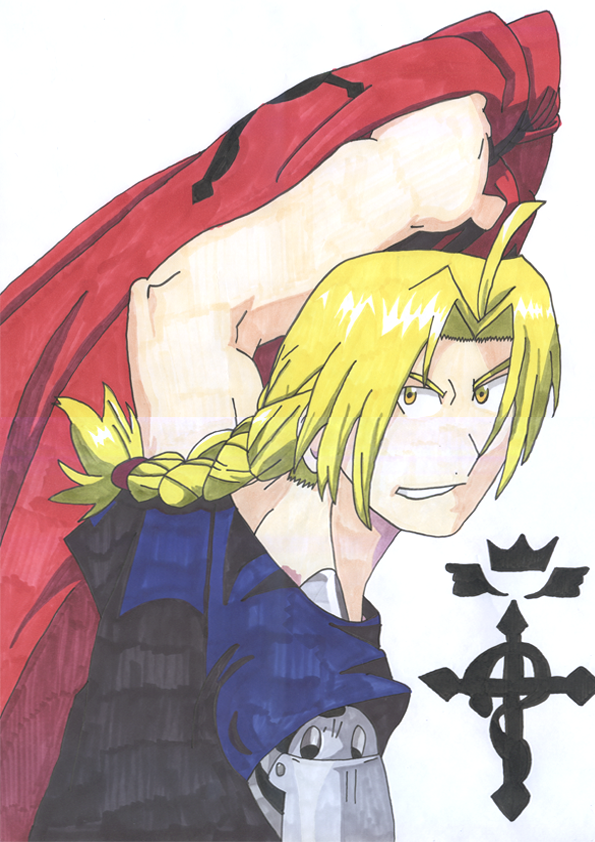 Ed Elric FMA by HachimakiX23
