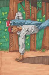 Capoeira by HachimakiX23