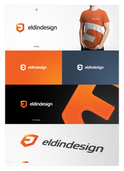 eldindesign final logotype by eLdIn94