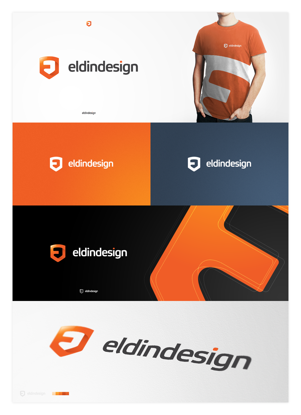 eldindesign final logotype by eLdIn94