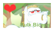 Bulk Biceps fan stamp by SolarFluffy