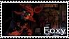 FNAF - Foxy Stamp by SolarFluffy
